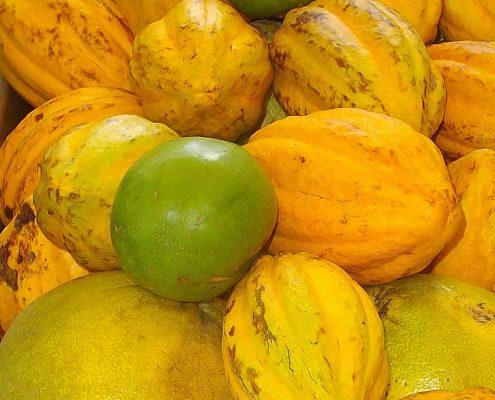 organic pawpaw and tahitian limes