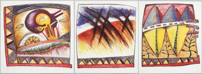1989_Moo-Moo-ga-Mole-Lumanai-Triptych
