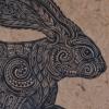 Otakou Mountain Hare Fleur detail by Michel Tuffery