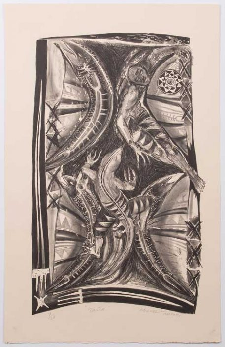 Tautu (1989) Lithograph on Paper