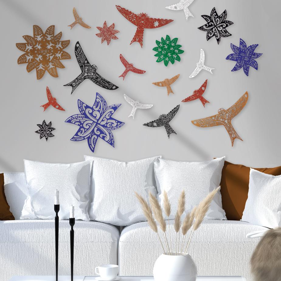 matariki stars and kites installation Michel Tuffery