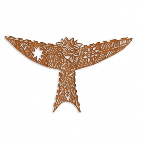 Manu-Atua-Ma_ohi-kite-Rimu-Front Michel Tuffery