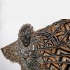 Manu-Aute-Rua-Kite-woodcut-on-tapa-0619 Michel Tuffery