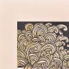 Emboss details of Whanganui Tangaroa print