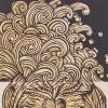 Details of Whanganui Tangaroa print