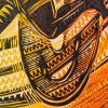 Detail of Sefulu The Dropkick Polynesian Player (colour) print