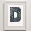 D for Dogs Print framed