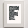 F for Framed Print