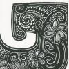 G for Gardenia Detailed Print