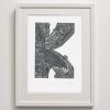 K fo Kakako Print framed
