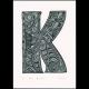 K for Kuki Print