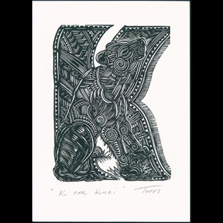 K for Kuri Print