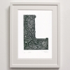 L for Detailed Print