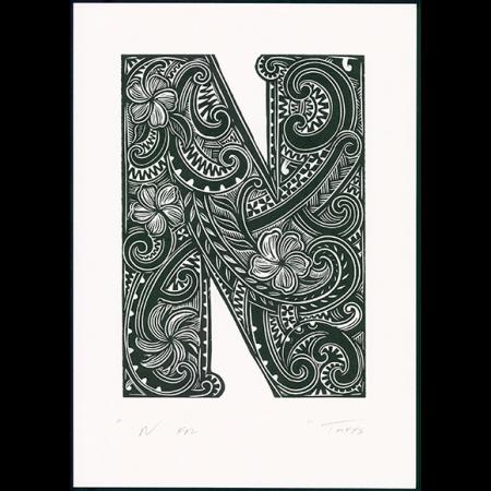 N for #2 Print