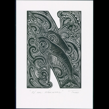 N for print