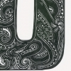 O for Octopus print detailed
