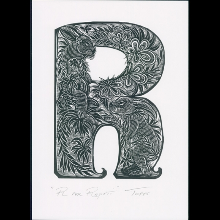 R for Rapeti Print