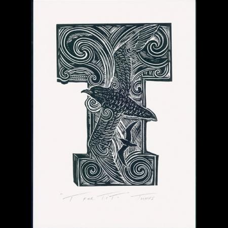 T for Titi print