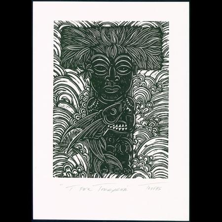 T for Tangaroa Print