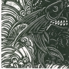T for Tangaroa Print Detailed