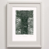 T for Tangaroa Print Framed