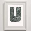 U for Print Framed