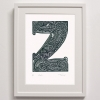 Framed Z for print