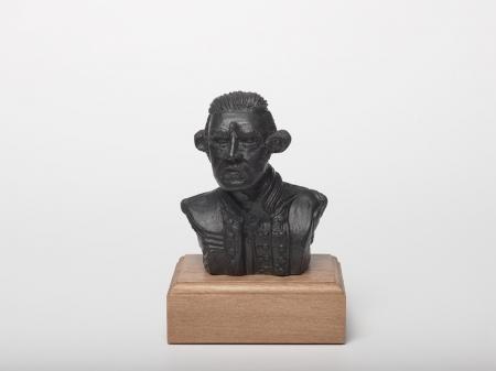 Cookie Tangaroa Bronze Sculpture front on