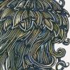 J For Jellyfish handcoloured Michel Tuffery