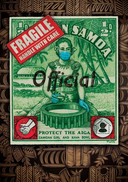 Protect our Aiga, Samoa print