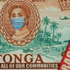 "Anga ofa, Nau Fesiofaki, Tonga "" Be kind to each other, look after each other"" print details"